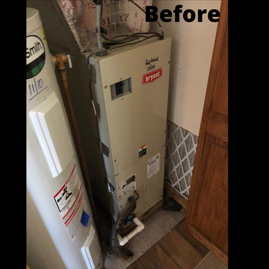 BOSCH Heat Pump Install in Cascade, MD