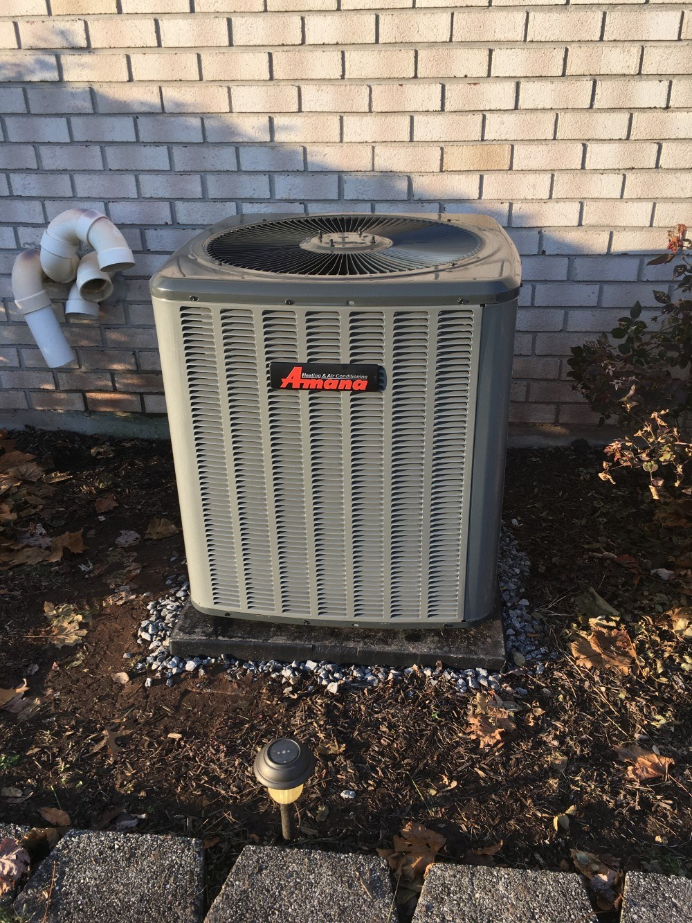 New Natural Gas Furnace and Air Conditioning System in Fairfield, PA